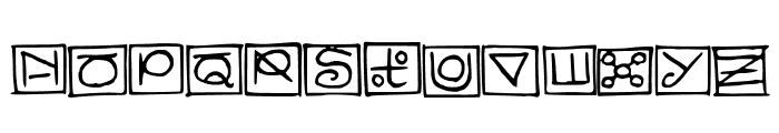 Nonsense-Medium Font UPPERCASE