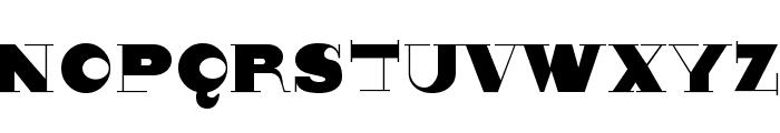 Nonsensiqua Font UPPERCASE