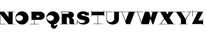 Nonsensiqua Font LOWERCASE