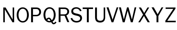 Nonserif-Regular Font UPPERCASE