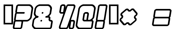 Nonstop italic Font OTHER CHARS