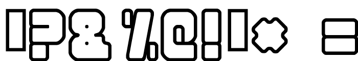 Nonstop Font OTHER CHARS