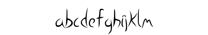 Nora Font LOWERCASE