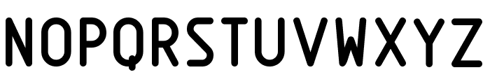 Nordica  Bold Font UPPERCASE