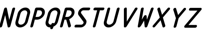 Nordica  BoldItalic Font UPPERCASE