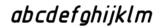 Nordica  BoldItalic Font LOWERCASE