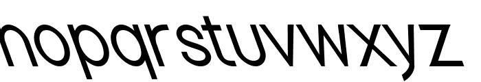 Nordica Classic Light Condensed Opposite Oblique Font LOWERCASE