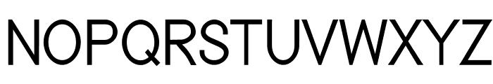 Nordica Classic Light Condensed Font UPPERCASE