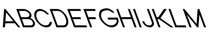 Nordica Classic Light Opposite Oblique Font UPPERCASE