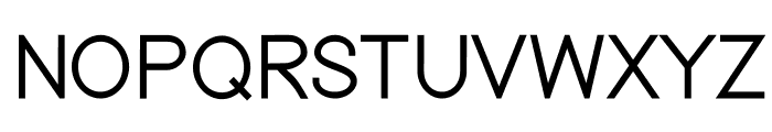 Nordica Classic Light Font UPPERCASE