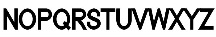 Nordica Classic Regular Condensed Font UPPERCASE