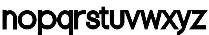 Nordica Classic Regular Condensed Font LOWERCASE