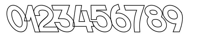 Nordica Classic Regular Extended Opposite Oblique Outline Font OTHER CHARS