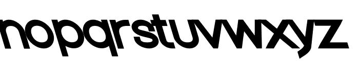 Nordica Classic Regular Extended Opposite Oblique Font LOWERCASE