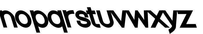 Nordica Classic Regular Opposite Oblique Font LOWERCASE
