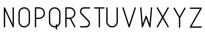 Nordica  Light Font UPPERCASE
