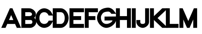 NordicaBlack Font UPPERCASE