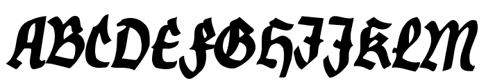 Nordland Font UPPERCASE