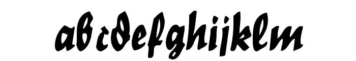Nordland Font LOWERCASE