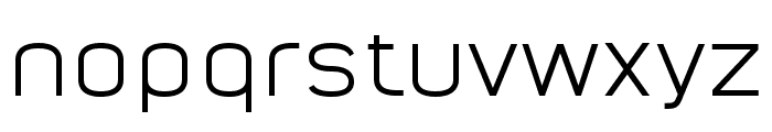 Nordstern Demo Regular Font LOWERCASE