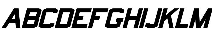 Norfolk Bold Italic Font UPPERCASE