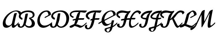Norican Regular Font UPPERCASE