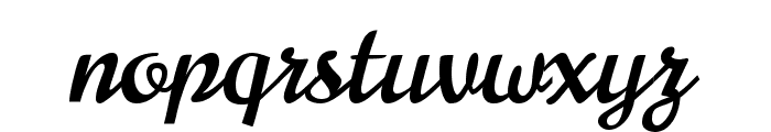 Norican Regular Font LOWERCASE