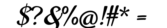 Norican Font OTHER CHARS