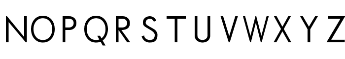 Normafixed Tryout Font UPPERCASE