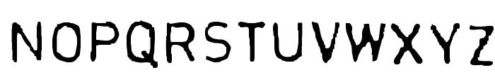 Normograf-Regular Font UPPERCASE