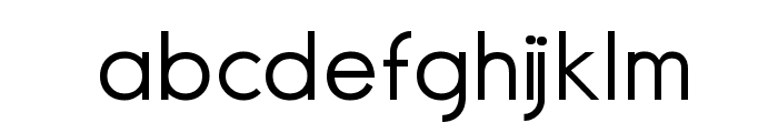 Normographe Tryout Font LOWERCASE