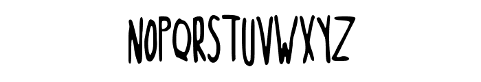NorteaaTallHand Font UPPERCASE