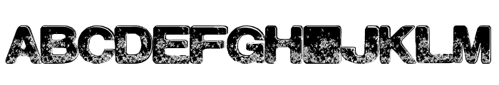 NorthBeach Font UPPERCASE