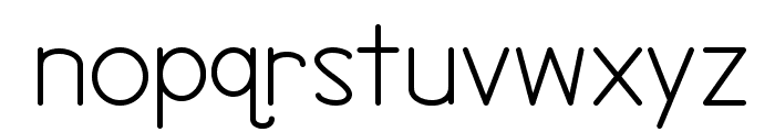 Northern Lights Font LOWERCASE