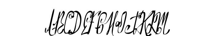 NorthernMontgomery Font UPPERCASE