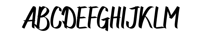 Northingtown Font UPPERCASE