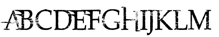 Northwood High Font UPPERCASE