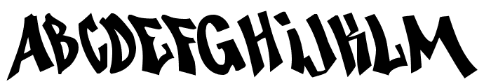 Nosegrind Demo Font LOWERCASE
