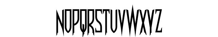 Nosferotica Font UPPERCASE