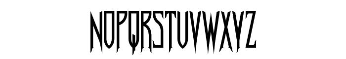Nosferotica Font LOWERCASE