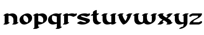 Nostalgia BRK Font LOWERCASE