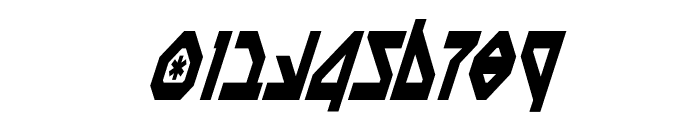 Nostromo Condensed Italic Font OTHER CHARS