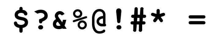 NotCourier-sans-Bold Font OTHER CHARS