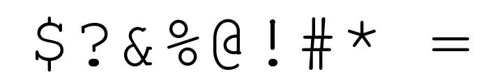 NotCourier-sans Font OTHER CHARS