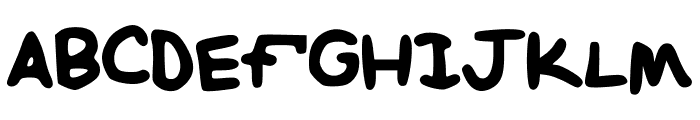 NotEven Font UPPERCASE