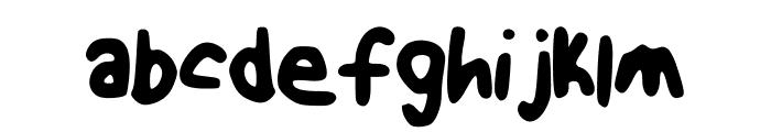 NotEven Font LOWERCASE