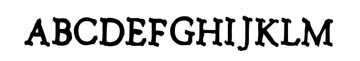 Notalkingplease-Regular Font UPPERCASE