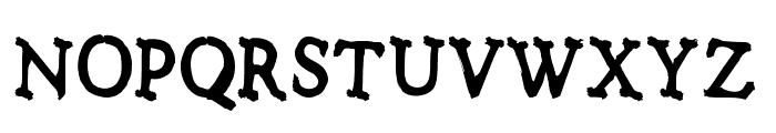 Notalkingplease-Regular Font LOWERCASE