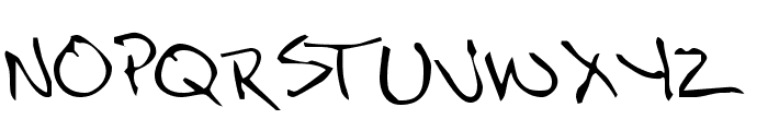 NoteScrawl Font UPPERCASE