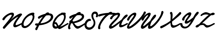 Notera 2 PERSONAL USE ONLY Bold Font UPPERCASE